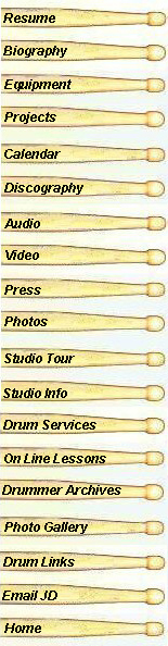 Drum Sticks Map